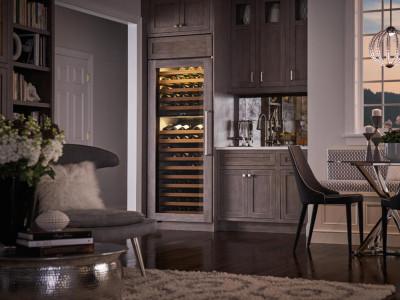 Компрессорный винный шкаф - преимущества и особенности