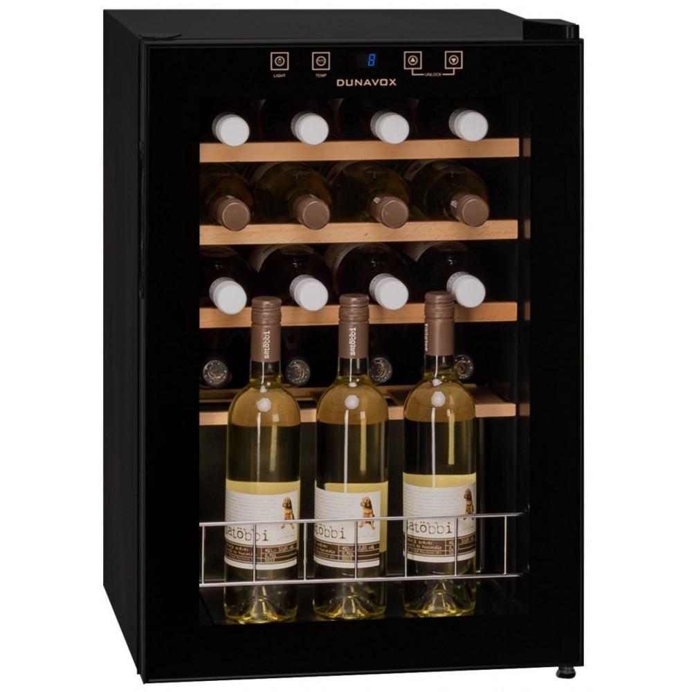 Уцененный винный шкаф Dunavox DX-20.62K