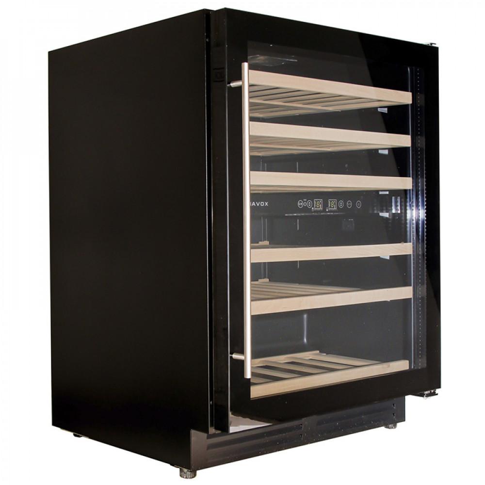 Винный шкаф Dunavox DX-51.150DBK/DP